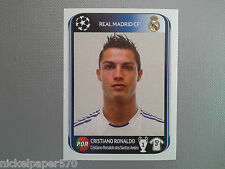 PANINI CHAMPIONS LEAGUE 2010 2011 - N.444 RONALDO REAL MADRID