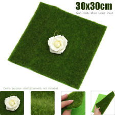 12'' Landscape Grass Mat Model Train Adhesive Paper Scenery Layout Lawn Decor