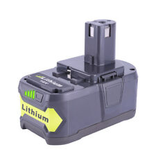 New Lithium ion Battery for Ryobi 18V 4.0Ah ONE PLUS RB18L50 RB18L40 RB18L13