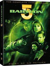 BABYLON 5: TV Show Complete Season 3 DVD Box Set Brand NEW!