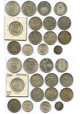 Portugal 15 Silbermünzen 1915-1974           # 272