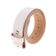 Gelante FULL GRAIN Genuine Leather Belt Strap without Buckle UNISEX BELT