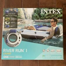 Intex River Run 1 Lounge Inflatable Floating Water Tube Raft IN HAND FREE SHIP