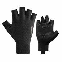 ROCKBROS Men's Cycling Half Finger Gloves Shockproof Breathable Bicycle Gloves