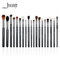 Jessup 19Pcs Pro Eye Make Up Brush Set Lip Eyeshadow Brow Blending Best Copper