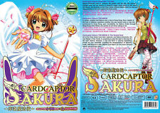 DVD Cardcaptor Sakura Vol.1-70 End + 2 Movie + Bonus Anime English Sub