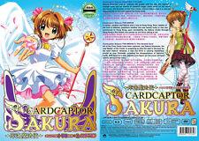 DVD Cardcaptor Sakura Vol.1-70 End + 2 Movie + Bonus Anime English Sub