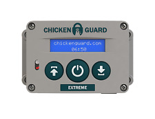 ChickenGuard Automatic Chicken Coop Door Opener ASTx Extreme - Timer Sensor USA!