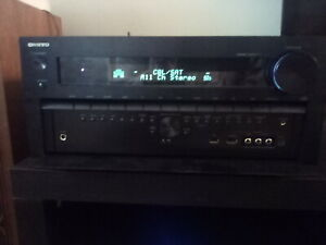Onkyo TXNR3030 11.2 channel, Dolby atmos, set up mike, and remote