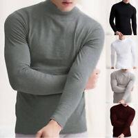 Hommes Sous-vêtement thermique à manches longues respirantbase Vêtements nuit