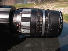 Aetna Tele Coligon 135mmF:3.5 13 Blades T2 m4/3 Sony A7 A7rll Nikon Canon Pentax