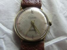 for sale******* 60s/70s PRIMATO 21 JEWELS 14 K GOLD******* wrist watch