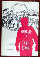 «Omaggio a Tavio Cosio», 8 disegni, Saluzzo, Villafalletto, Melle, 1991
