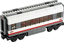 LEGO City High Speed Passenger Train 60051 Rail Set Spare Coach Middle Carriage