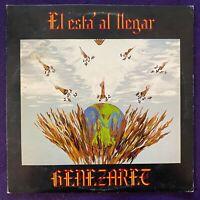 GENEZARET El Esta al Llegar LP PRIVATE Xian Latin Soul Rock RARE Listen HEAR