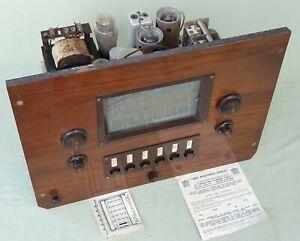 HMV No 665 SW MW LW AUTO Radio Turner Amplifier with Board Marconi