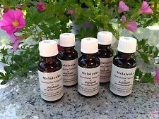 5 Melaleuka Teebaumöl in Jojobaöl, Melaleuca alternifolia, Omega 5 x 20 ml
