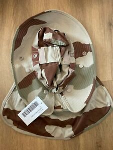 Chapeau de brousse militaire en camouflage Sable Désert Armée française / Légion