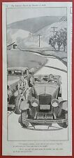 Kelly-Springfield Tires          1929 Advertisement         Laurence Fellows Art