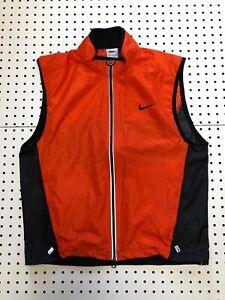 Vintage Nike 3m Running Vest Safety Orange Nike Mesh Vest 90s 2000's
