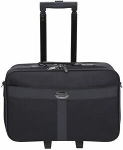 Executive Business Fits upto 17 inch Laptop Wheeled On-Board Cabin Bag Suitcase