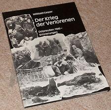 DER KRIEG DER VERLORENEN W Casper Endkampf Ostpreussen 1945 Waffen-SS Pz.Gren.Di
