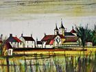 V. Beffa, French Village, Signed and Numbered Lithograph, Bernard Buffet