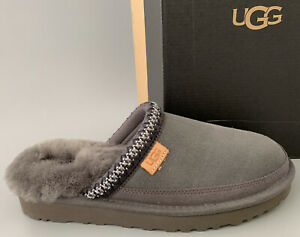 UGG Australia TASMAN  SLIP-ON Suede Slippers Men US8 #1103900 GRAY #72