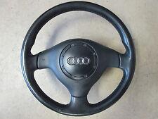 Volante de cuero volante airbag original audi a3 8l 3 radios 8l0419091q