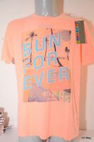 """Tee-Shirt Homme CROSSBY 16711 IPANEMA """"Sun for Ever"""" Saumon - Taille XL - NEUF"""