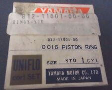 New NOS Genuine Yamaha Piston Ring Std 1971-1973 SL292 Snowmobiles