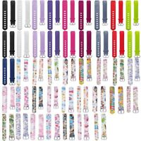 Unisex Silicone Wrist Band Watch Strap For Fitbit ACE Smart Bracelet Child Kids