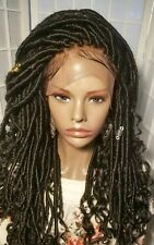 Front LACE goddess locs wigs w/ bleach knots & baby hair (colors are optional)