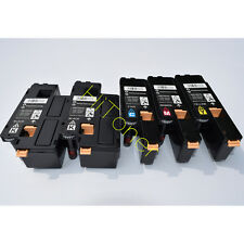 5 x Toner For Xero Phaser 6020 6022 (106R02760-106R02763) Workcentre 6025 6027