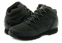 Timberland A1QHR Euro Sprint Mens Canvas Hikers Hiking Boots Shoes Black Size