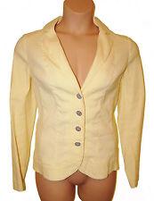 Bnwt size 16 Per Una Yellow Jacket in Stretch Linen Mix