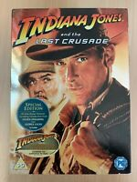 Indiana Jones and the Last Crusade DVD 1989 Action Movie Classic with Slipcover