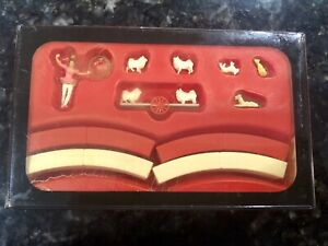 PREISER HO Scale #22009 Great Circus Train - Animal Trainer With Animals NOS