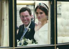 Royal Wedding Postcard of Princess Eugenie of York & Jack Brooksbank