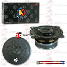 BRAND NEW MEMPHIS 4-INCH 2-WAY CAR AUDIO SPEAKERS (PAIR) 4""