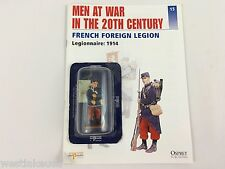 French Foreign Legionnaire 1914 1/32th Scale die-cast Action Figure by Del Prado