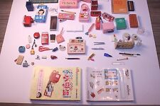 Re-ment Rement Stationary School Supplies Children's goods lot pencils erasers