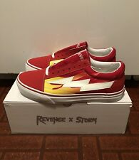 fe6e49fa3a2500 Revenge X Storm Red Flames Size US 11 (AUTHENTIC)
