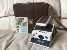 Polaroid SX-70 Model 2 Instant Camera-Tested&Working-w/Case-Nice-Ships Same Day