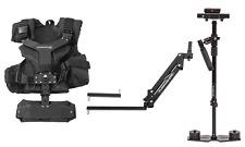 Flowcam 4000 Steadycam Handheld Camera Stabilizer Adjusting Gimbal w/ Arm Vest