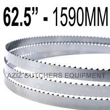 "Butchers Meat Bandsaw Blades (5 Pack). 62.5"" (1590mm) X 5/8"" X 4tpi"