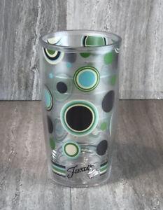 Tervis Tumbler 16 oz Fiesta Lapis Dots Mug Travel Cup Fiestaware Dancing Lady