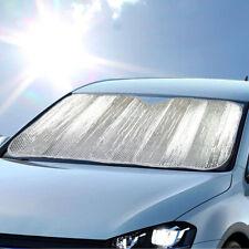 carXS Sunshade Chrome Foil Reflective Sun Shade Car Cover Visor Standard Size