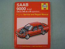 SAAB 9000 1985 ~ 1995 1686 HAYNES SERVICE WORKSHOP REPAIR MANUAL