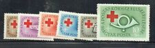 Hungary 1957 Red Cross Fund set unmounted mint